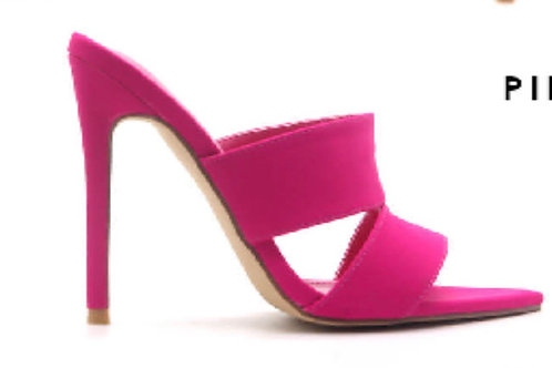 Sizzle Hot Pink Mule