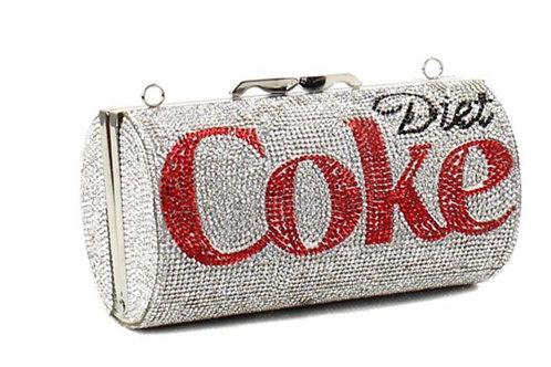 Diet Coke Rhinestone Clutch