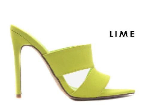 Sizzle Lime Mule
