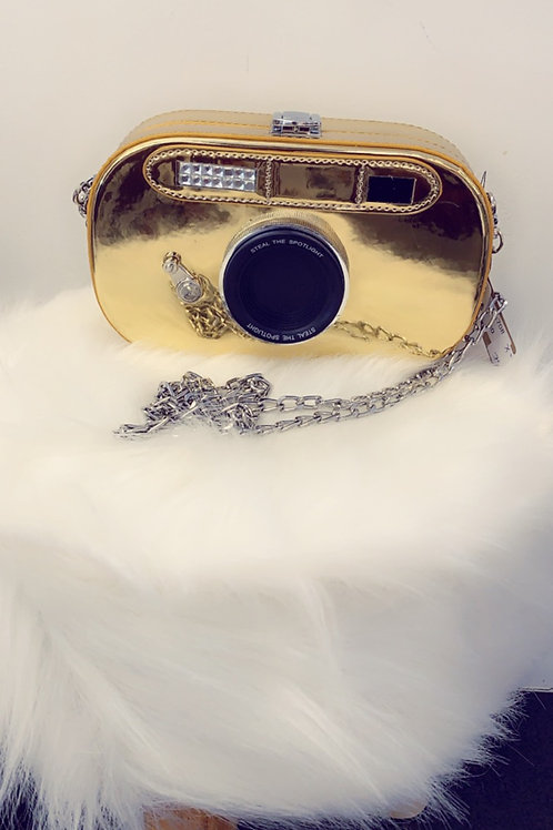 Snap it Up Gold purse