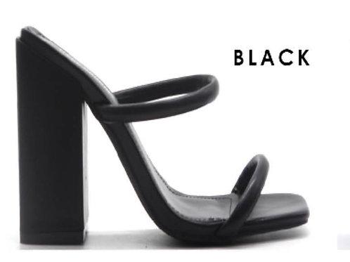 Sheba Black Mule
