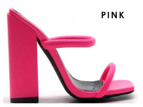 Sheba Pink Mule