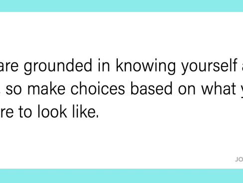 own your choices