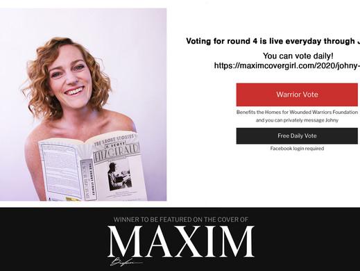 thank you! Maxim round 4!
