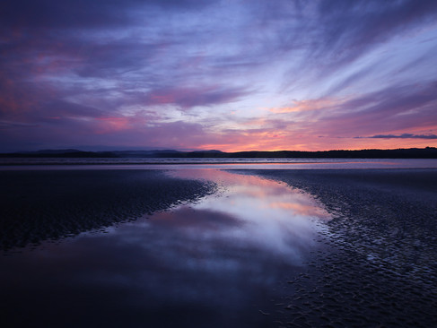 sunsets in Donegal