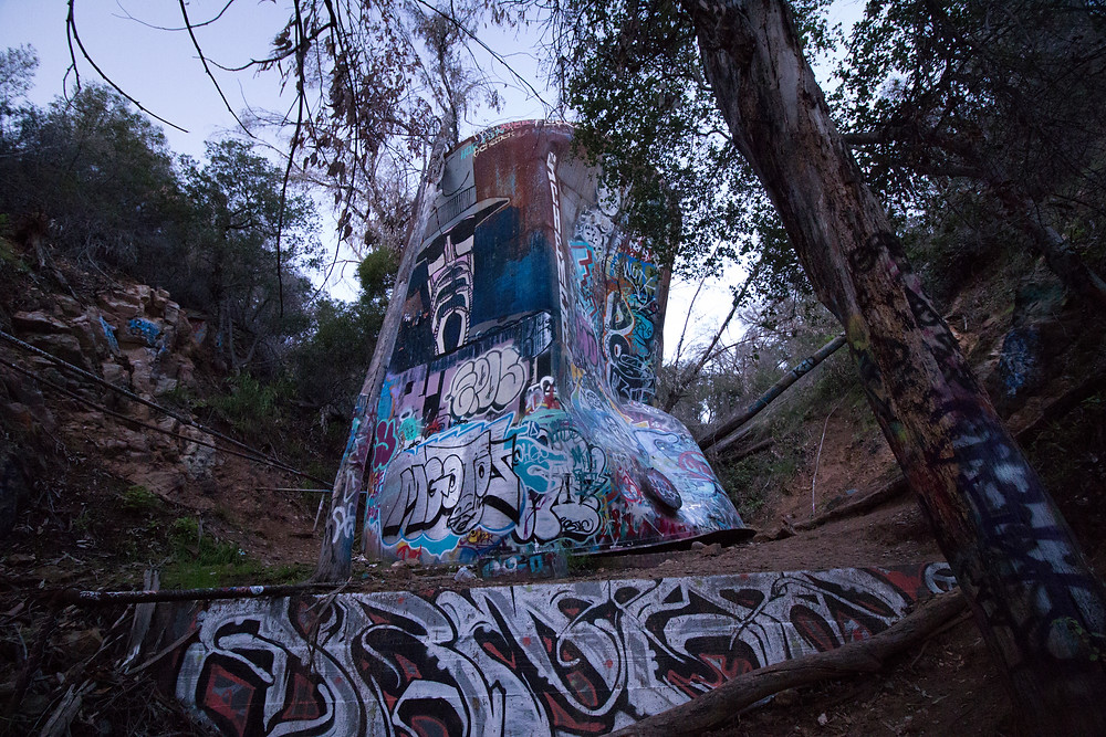 Abandoned Water Tower