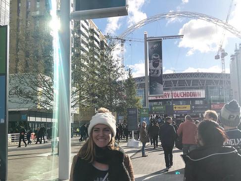 Super Bowl LII Champs at Wembley