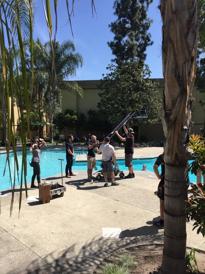 shooting some underwater scenes