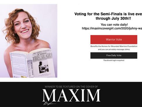Maxim Cover Girl Semi-Finals!