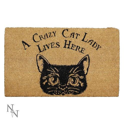 Crazy Cat Lady Mat