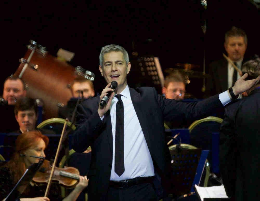 The concert in Crocus City Hall