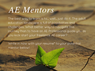 Announcing the IAL AE Mentors scheme