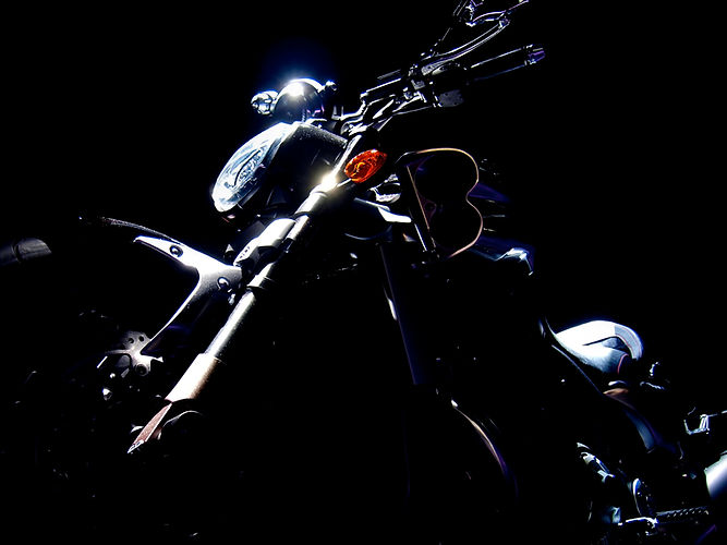 Motorcycle-Dark-Background
