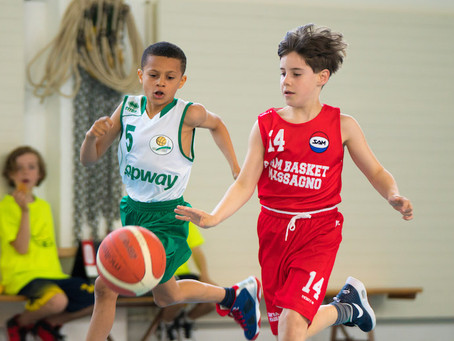Under 9 (Red & White) di nuovo sul parquet!
