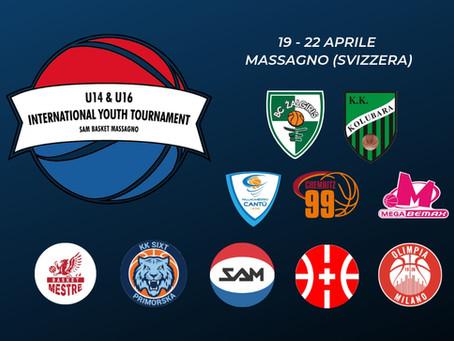 A Pasqua torna il grande basket giovanile a Massagno