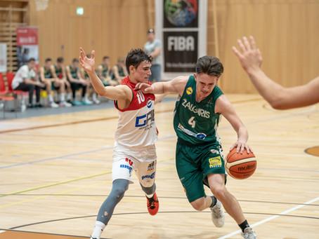 Under 16: Zalgiris e Primorska a punteggio pieno