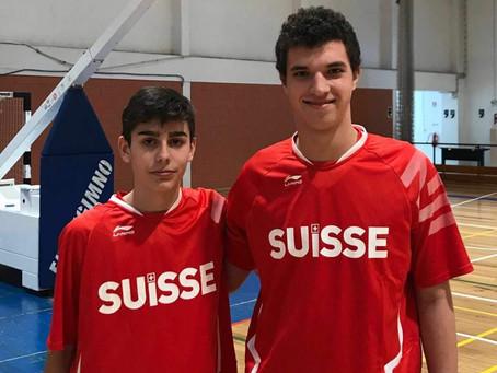 Conti e Isotta con la Nazionale U16