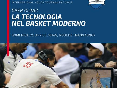 Clinic IYT 19, si parlerà di tecnologia applicata al basket