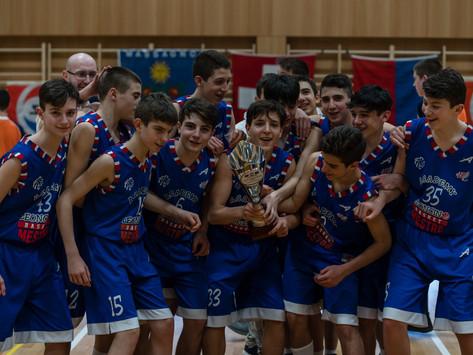 La Leoncino Mestre trionfa nella categoria U14. Elkazevic (SAM) MVP