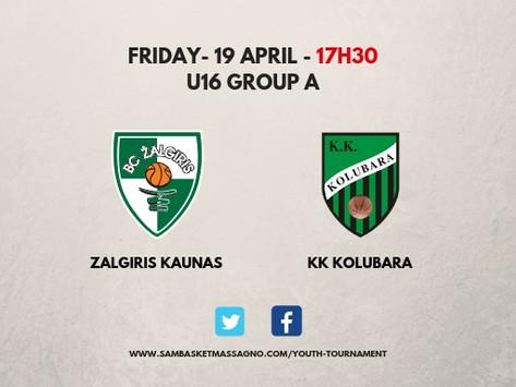 Guarda l'International Youth Tournament in diretta streaming
