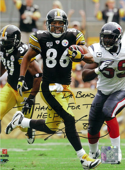 Hines Ward #86 of the Pittsburgh Steelers