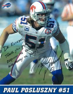 Paul Posluszny, #51 of the Buffalo Bills