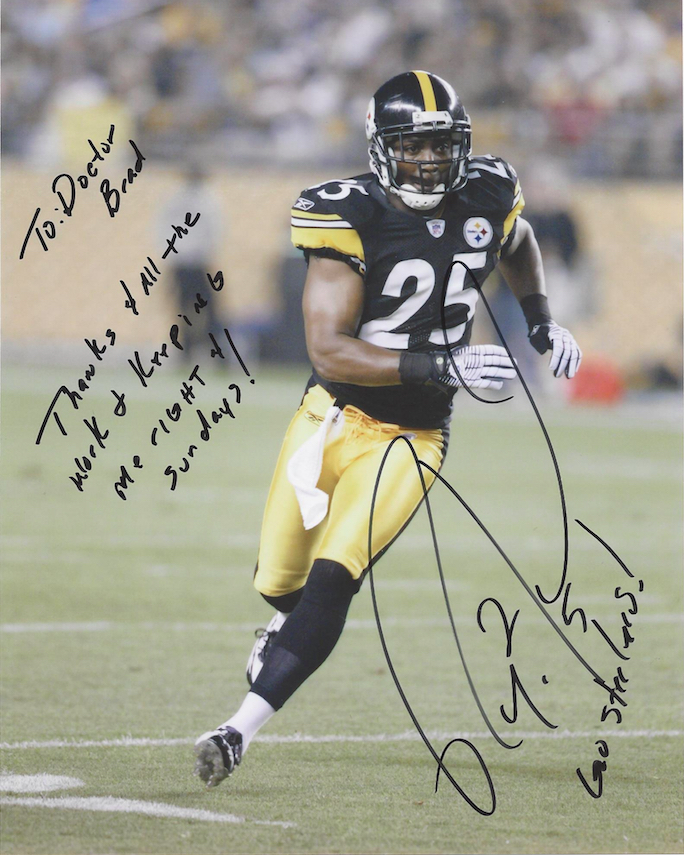 Ryan Clark, #25 Pittsburgh Steelers