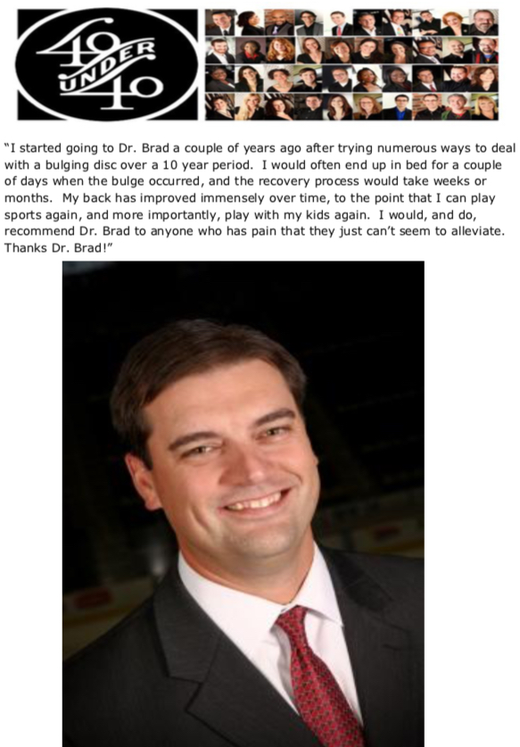 Dave Hoffman, 40 Under 40 Honoree
