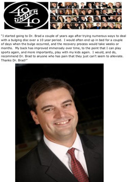 Dave Hoffman, 40 Under 40 Honoree