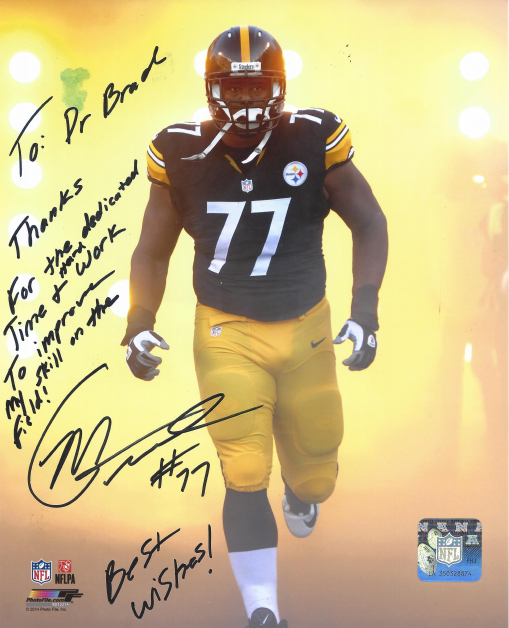 Marcus Gilbert, #77 Pittsburgh Steelers