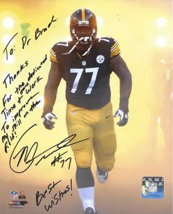 Marcus Gilbert, #77 Pittsburgh Steelers
