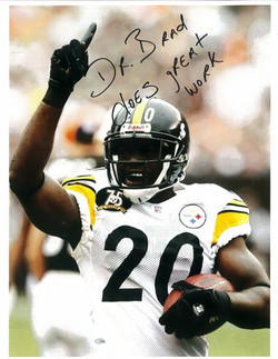 Bryant McFadden #20 of the Pittsburgh Steelers