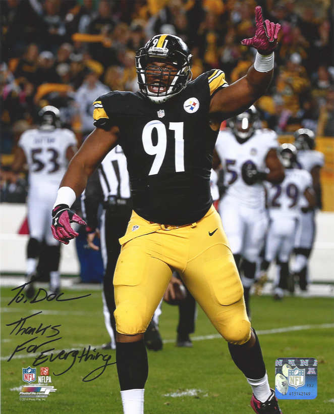Stephon Tuitt, #91 Pittsburgh Steelers