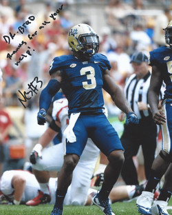 Nicholas Grigsby, #3 of the Pitt Panthers