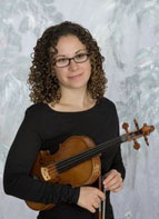 Laura Motchalov, Violinist with the Pittsburgh Symphony Orchestra