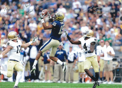 Devin Street #15 of the Pitt Panthers