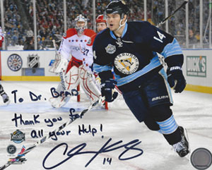 Chris Kunitz, #14 Pittsburgh Penguins