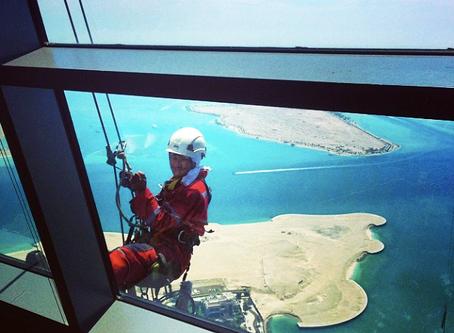 The Spidermen of Abu Dhabi