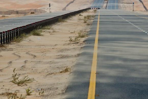 Road to Madinat Zayed