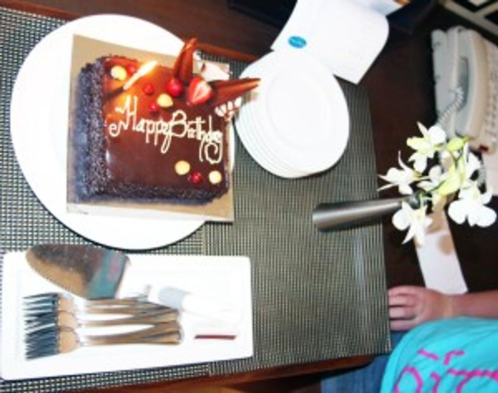 Birthday cake_One Arabian Night