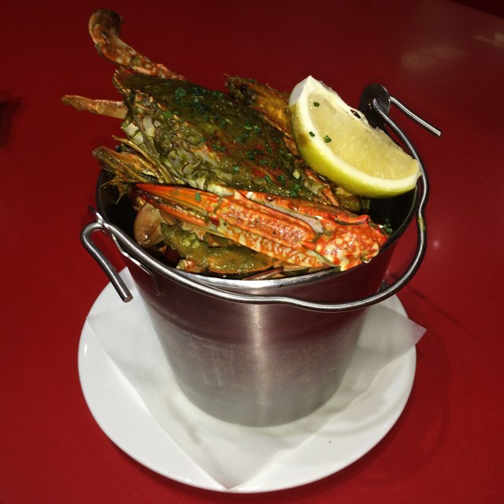 Seafood bucket at Urban Seafood in Ibn Battuta Mall in Jebel Ali Village