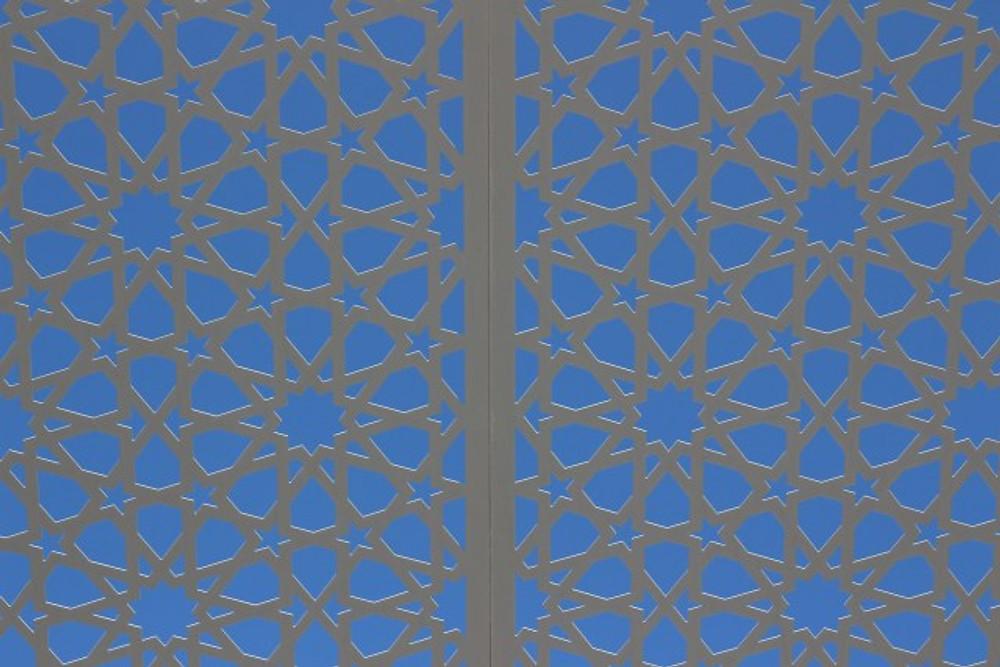 Roof Screen at the Manarat Al Saadiyat Museum
