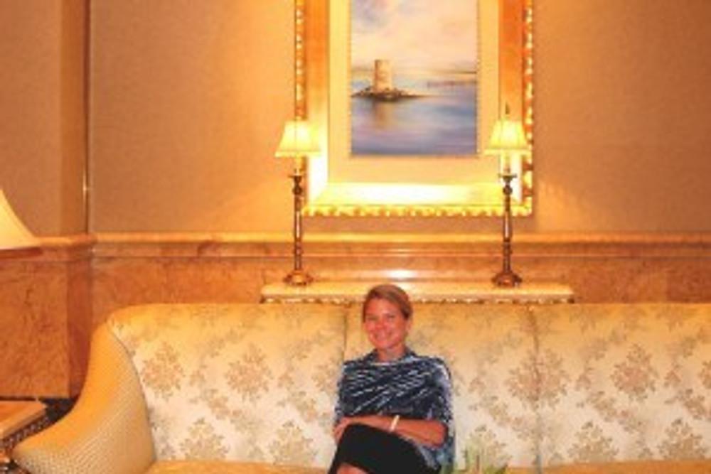 Emirate's Palace Couch, Abu Dhabi. Emirates' Palace