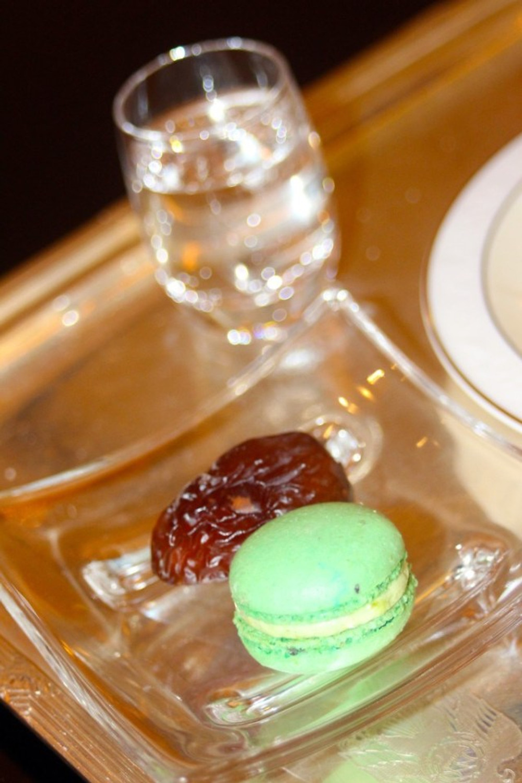 Macaroons & A Date. Abu Dhabi, Emirates' Palace