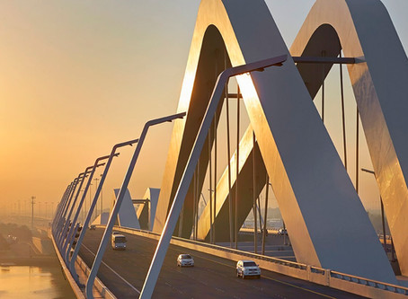 Lady's Legs Bridge and Inspired Architecture