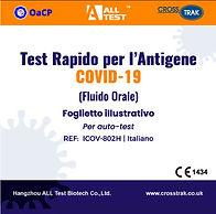 Test rapido per l'antigene Covid-19