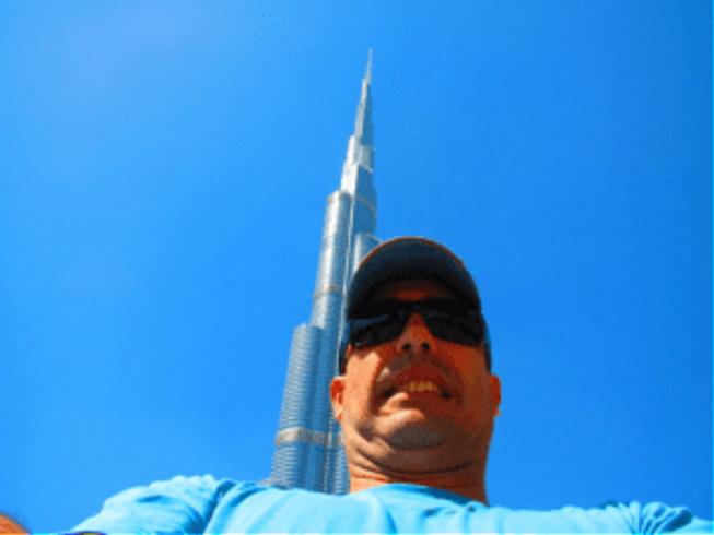 Burj Khalifa selfie