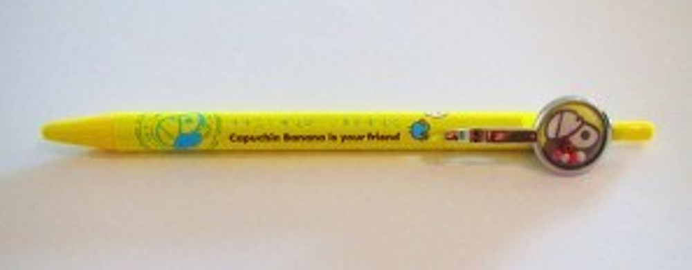 Capuchin Banana is actually NOT your friend. It is a cheap, mechanical pencil MADE IN CHINA!