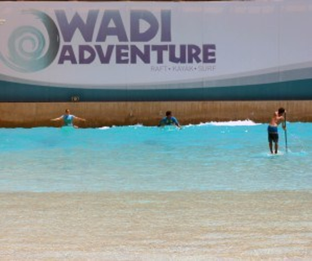 The Line-up at Wadi Adventure