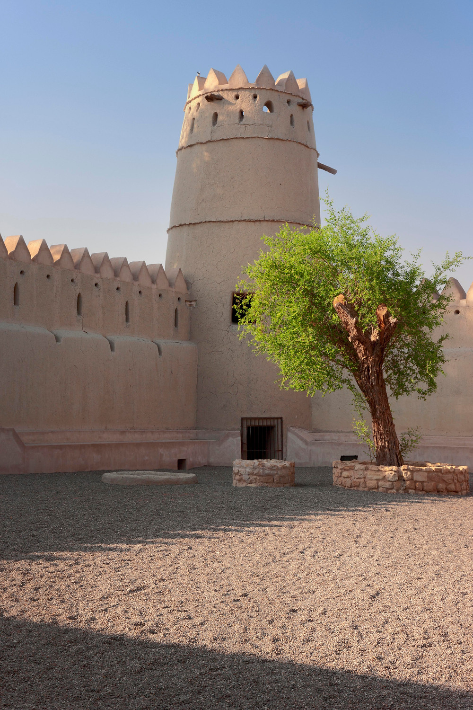 Internal courtyard in Sultan Fort, Al Ain National Museum